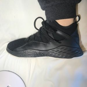 Black Jordan's/ Basketball Shoes